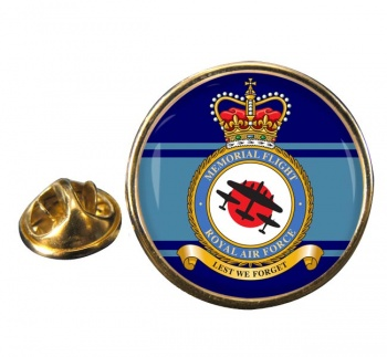 Memorial Flight (Royal Air Force) Round Pin Badge