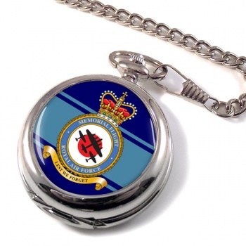 Memorial Flight (Royal Air Force) Pocket Watch