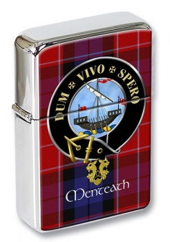 Menteath Scottish Clan Flip Top Lighter