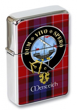 Menteith Scottish Clan Flip Top Lighter