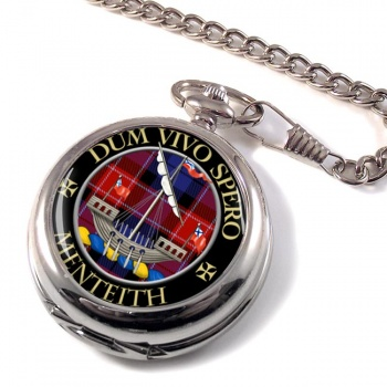 Menteith Scottish Clan Pocket Watch