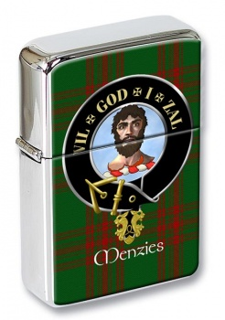 Menzies Scottish Clan Flip Top Lighter
