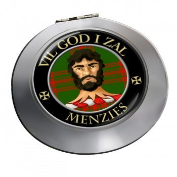 Menzies Scottish Clan Chrome Mirror