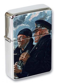 Merchant Navy Poster Flip Top Lighter