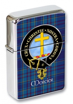 Mercier Scottish Clan Flip Top Lighter