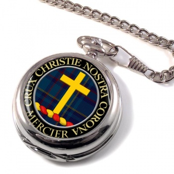 Mercier Scottish Clan Pocket Watch