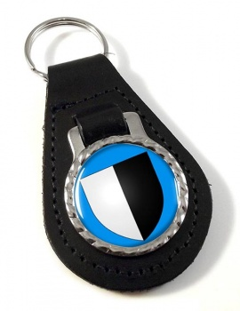 Metz (France) Leather Key Fob