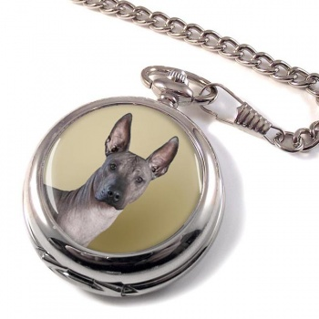 Mexican Hairless Dog Pocket Watch