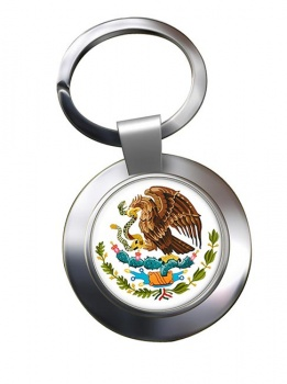 Mexico Metal Key Ring