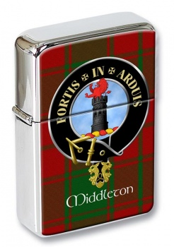 Middleton Scottish Clan Flip Top Lighter