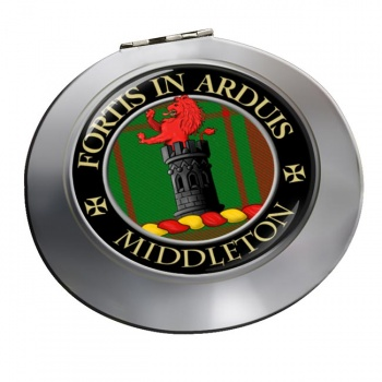Middleton Scottish Clan Chrome Mirror