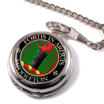 Middleton Scottish Clan Pocket Watch