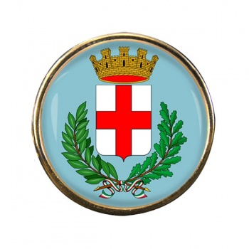 Milano (Italy) Round Pin Badge