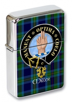 Miller Scottish Clan Flip Top Lighter