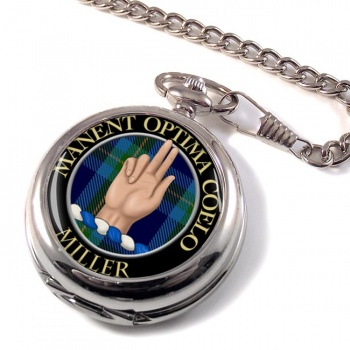 Miller Scottish Clan Pocket Watch