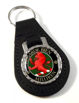 Milliken Scottish Clan Leather Key Fob