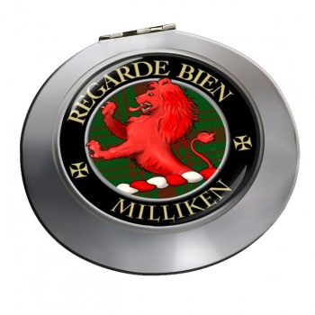 Milliken Scottish Clan Chrome Mirror