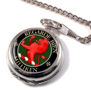 Milliken Scottish Clan Pocket Watch