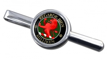 Milliken Scottish Clan Round Tie Clip