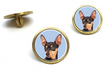 Miniature Pinscher Golf Ball Marker Set