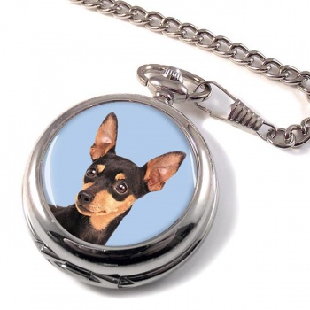 Miniature Pinscher Pocket Watch