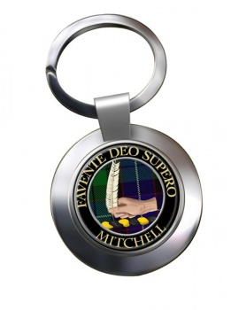 Mitchell Scottish Clan Chrome Key Ring