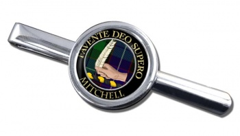 Mitchell Scottish Clan Round Tie Clip
