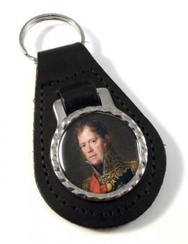 Marshal Michel Ney Leather Key Fob