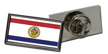 Mobile AL  Flag Pin Badge