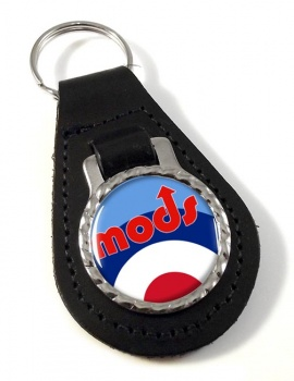 Mods Leather Key Fob