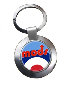 Mods Chrome Key Ring