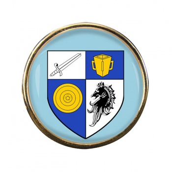 County Monaghan (Ireland) Round Pin Badge