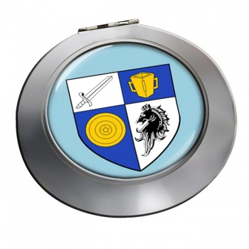 County Monaghan (Ireland) Round Mirror