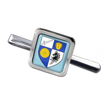 County Monaghan (Ireland) Square Tie Clip