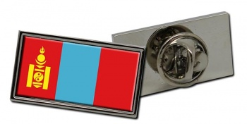 Mongolia Flag Pin Badge