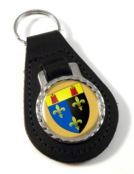Monmouthshire  Leather Key Fob