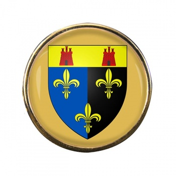 Monmouthshire Round Pin Badge