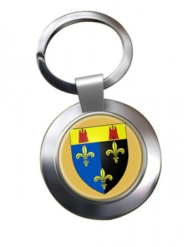 Monmouthshire  Metal Key Ring