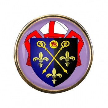Monmouth See Round Pin Badge