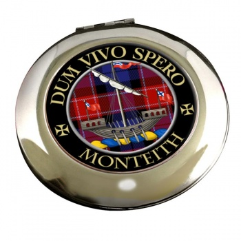 Monteith Scottish Clan Chrome Mirror