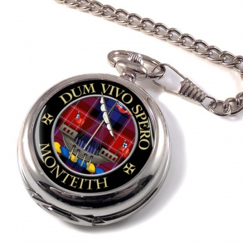Monteith Scottish Clan Pocket Watch