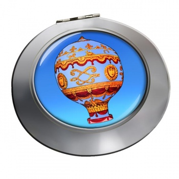 Montgolfier Hot Air Balloon Chrome Mirror