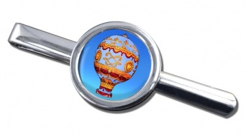 Montgolfier Hot Air Balloon Tie Clip