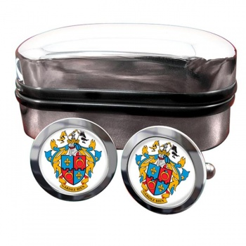 Montgomery County MD  Crest Cufflinks