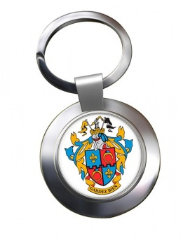 Montgomery County MD  Metal Key Ring