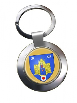 Montpellier (France) Metal Key Ring