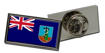 Montserrat Flag Pin Badge