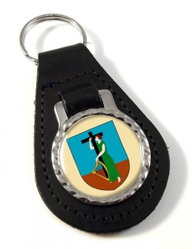 Montserrat Leather Key Fob