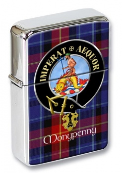 Monypenny Scottish Clan Flip Top Lighter