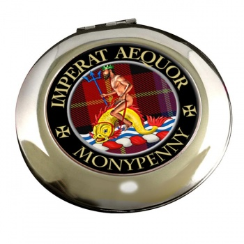 Monypenny Scottish Clan Chrome Mirror